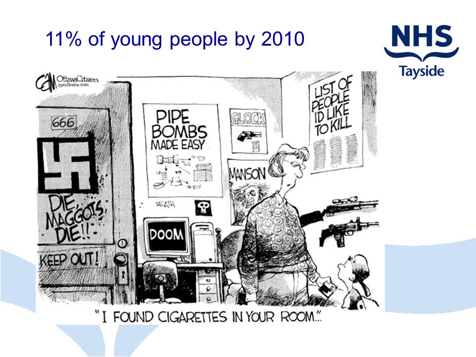 11% of young people by 2010