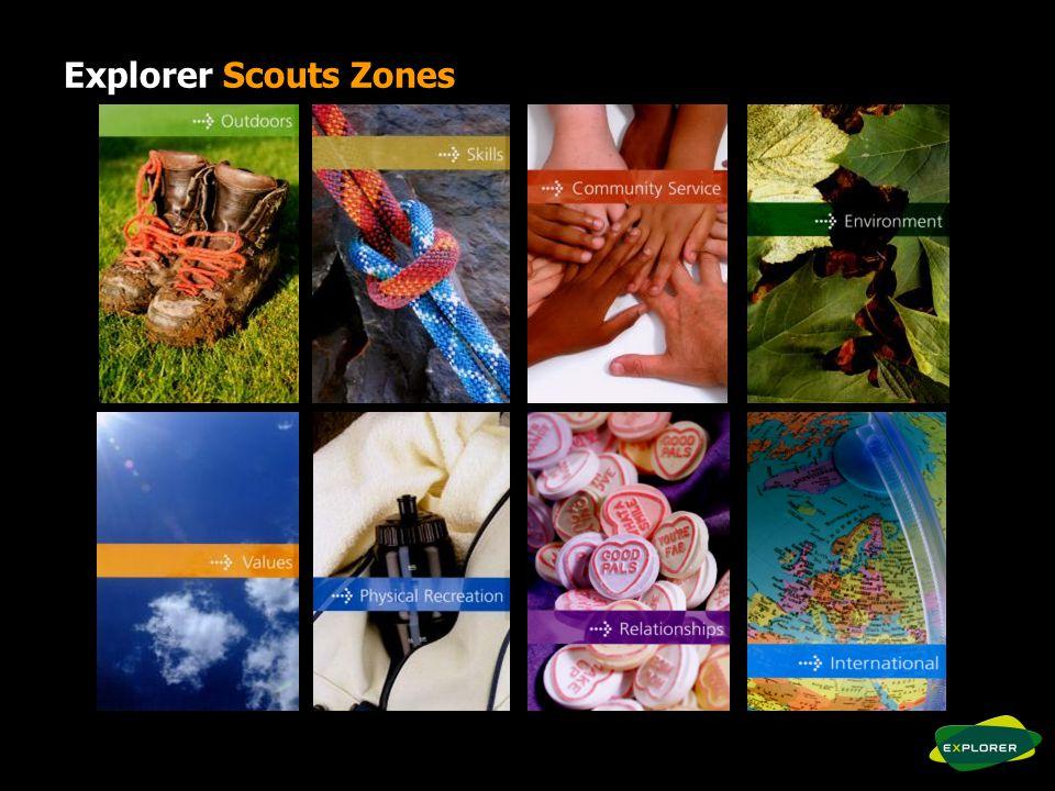 Explorer Scouts Zones