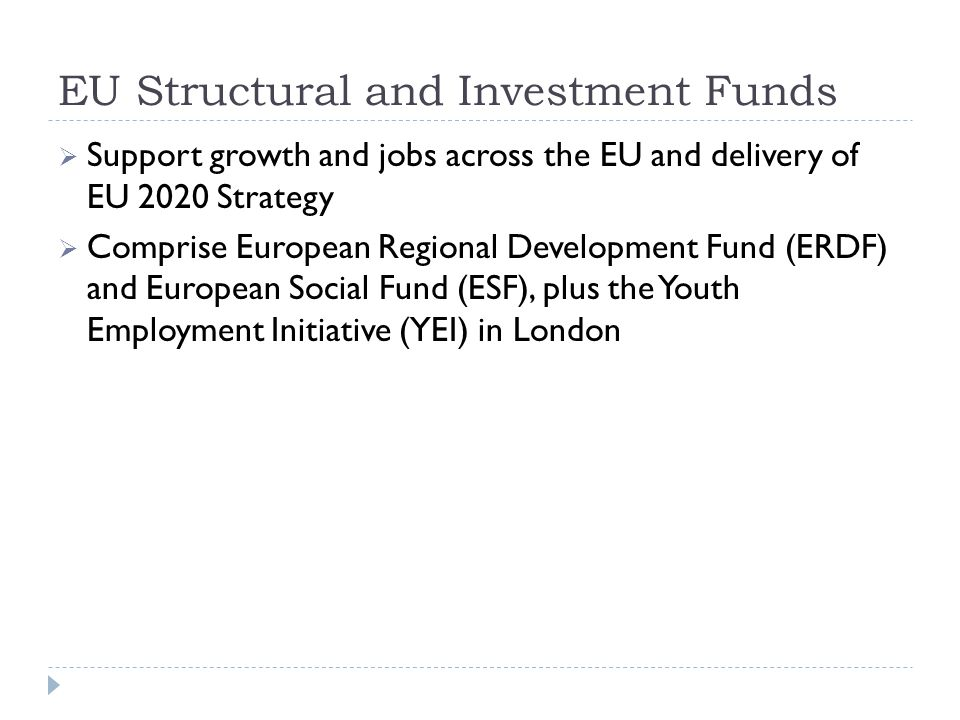 Europe 2020 Strategy The EU's strategy for smart, sustainable and inclusive growth Headline targets:  75% employment (ages 20-64)  3% EU GDP investment in Research & Development  Achievement of the 20/20/20 climate targets (20% lower greenhouse gas emissions than 1990 levels, 20% of energy from renewables, 20% increase in energy efficiency)  40% of 30-34 year olds should have a tertiary degree, and reducing rates of early school leaving to below 10%  20 million people lifted out of poverty and social exclusion
