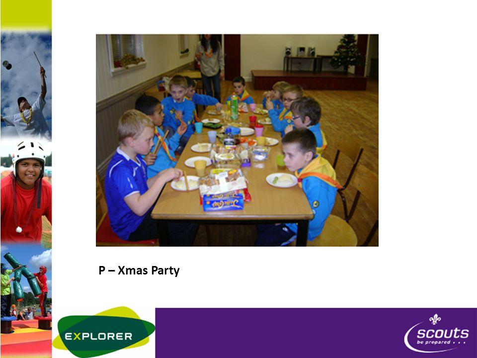 P – Xmas Party