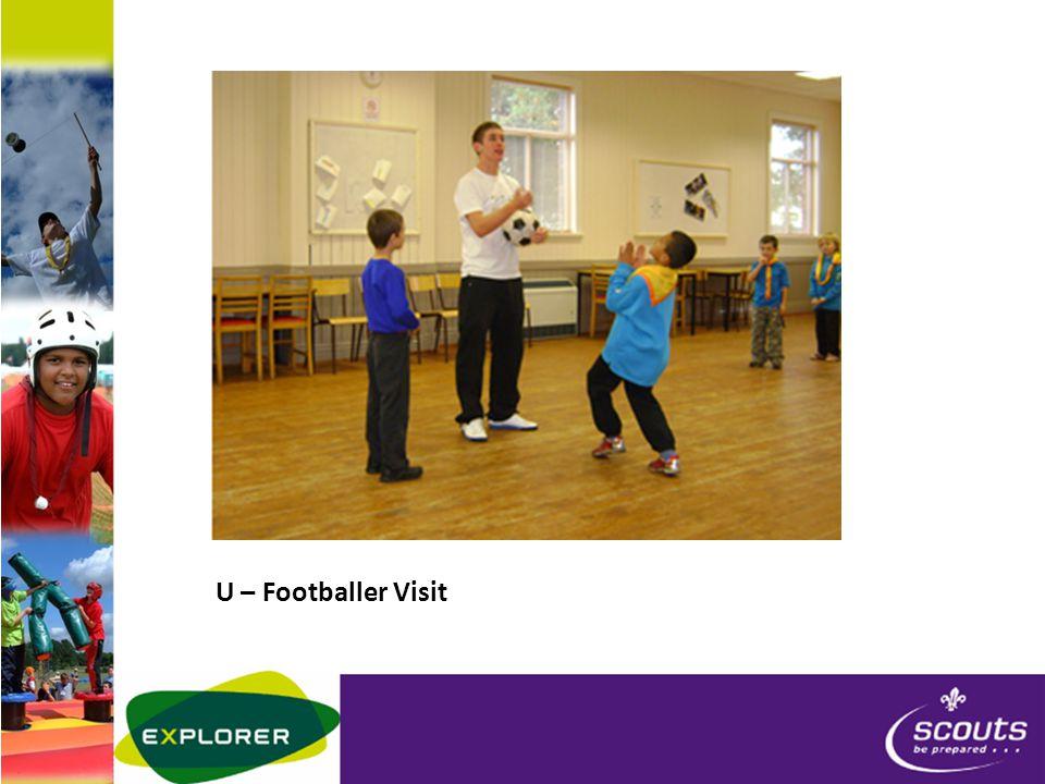 U – Footballer Visit