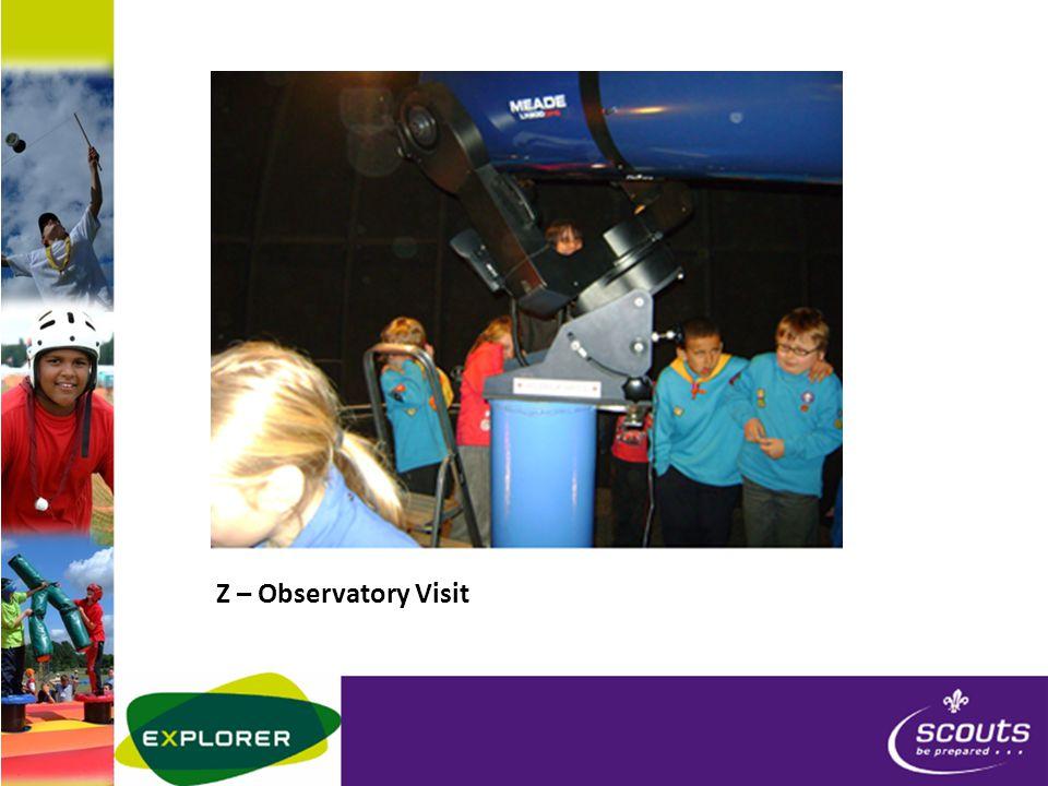 Z – Observatory Visit