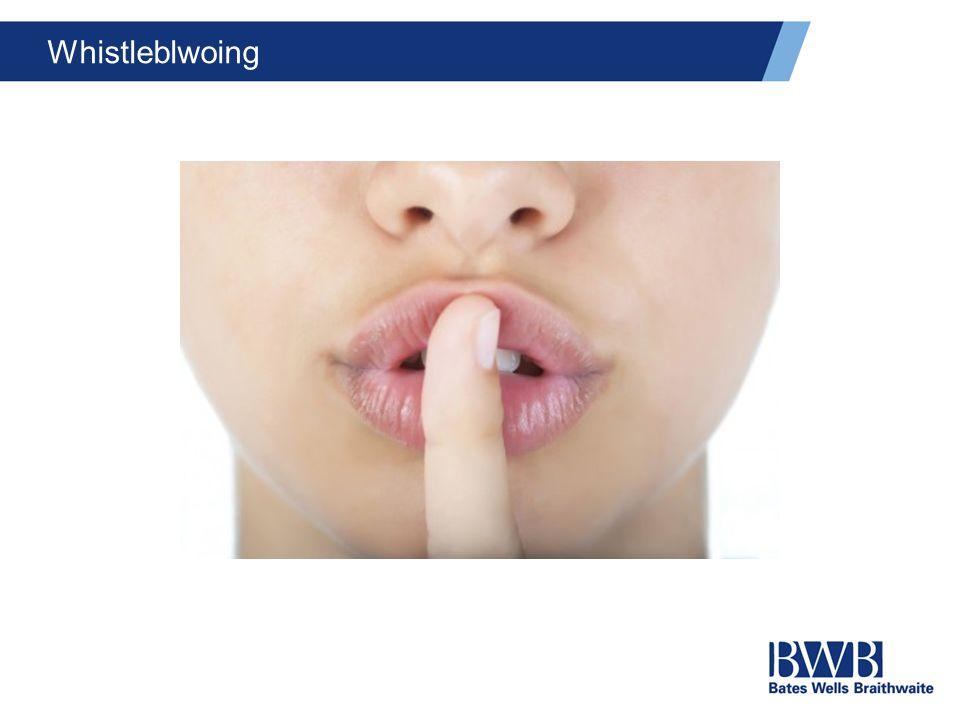 Whistleblwoing