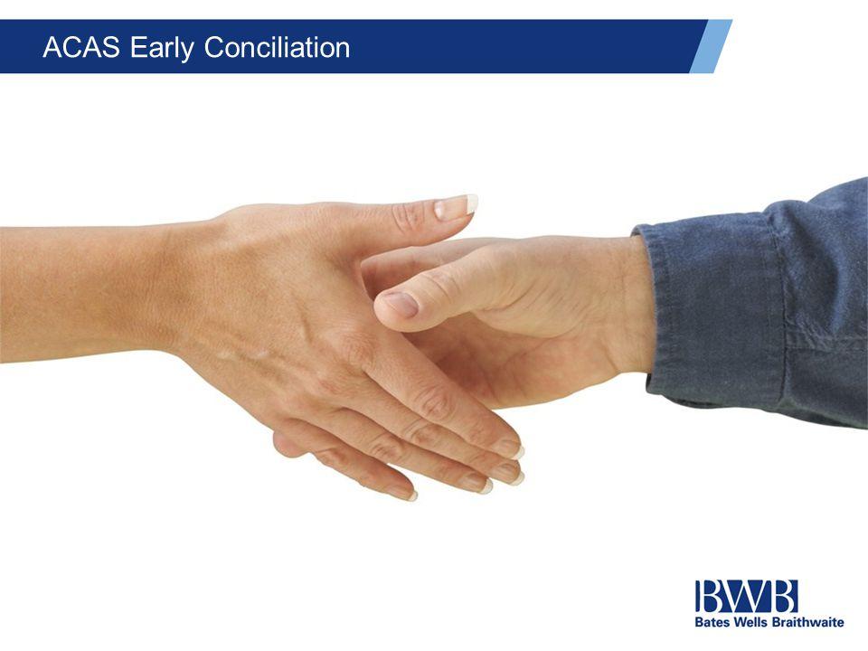 ACAS Early Conciliation