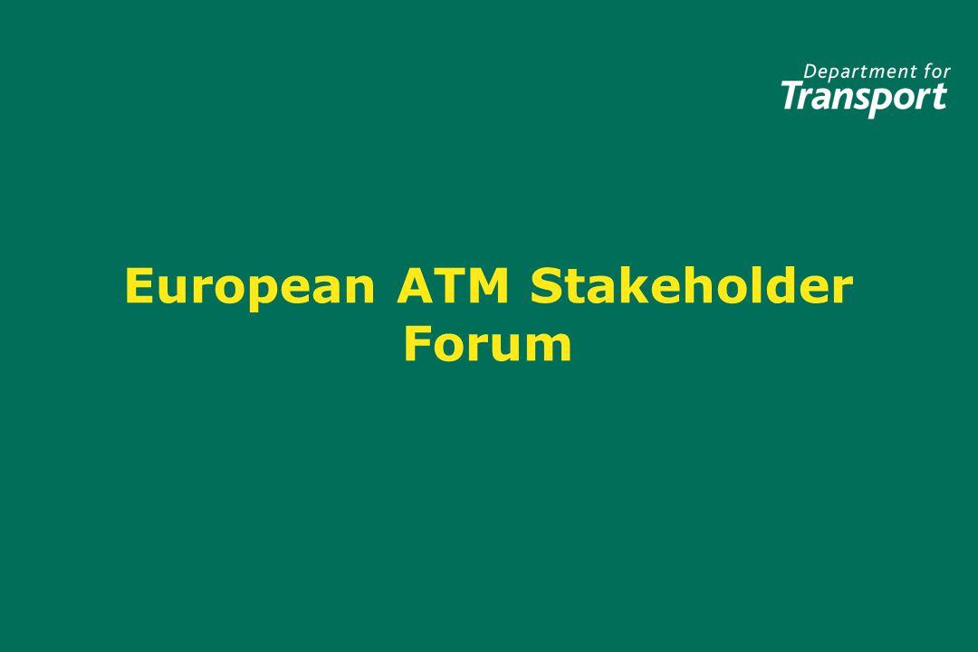 European ATM Stakeholder Forum