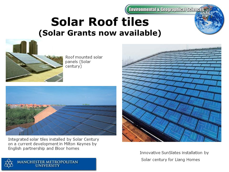 Photovoltaics on Buildings PV arrays, generating around 54kW (peak) with a total area of 430m 2, form the sloping glazed roofs of the atrium spaces in