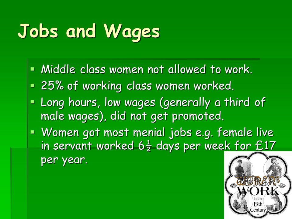 6 Separate Spheres  Men = work, politics, war etc  Women = home, family etc