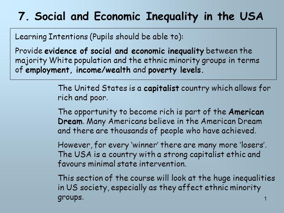 Essay Practice To what extent do ethnic minorities achieve the American Dream.