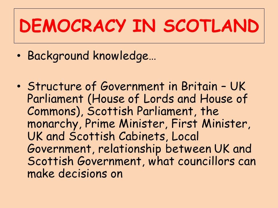 Scottish Parliament Basics Difference between Scottish Parliament and Scottish Government Who meets in SP.