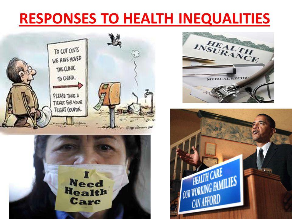 RESPONSES TO HEALTH INEQUALITIES