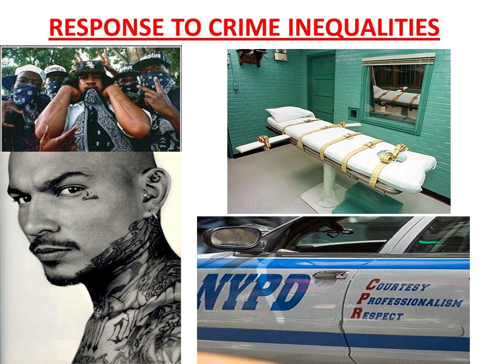 RESPONSE TO CRIME INEQUALITIES