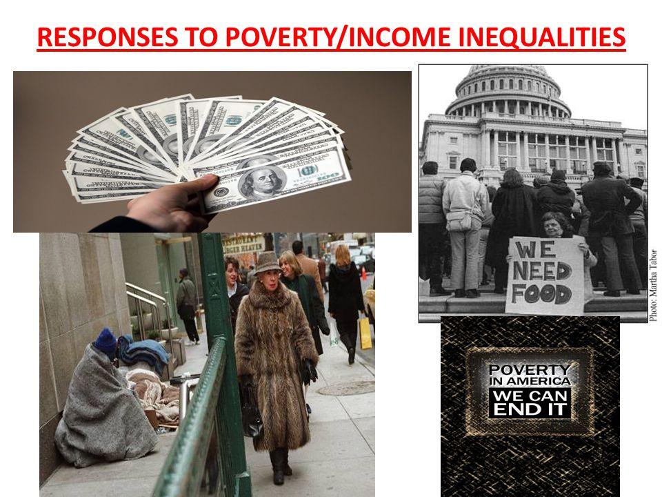 RESPONSES TO POVERTY/INCOME INEQUALITIES