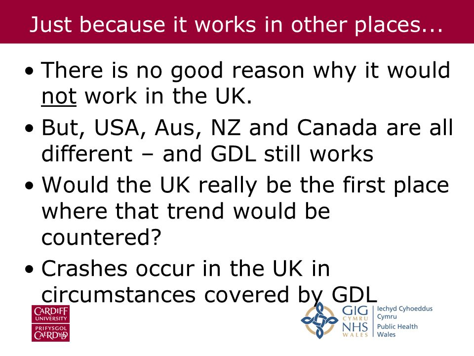 Just because it works in other places... There is no good reason why it would not work in the UK.