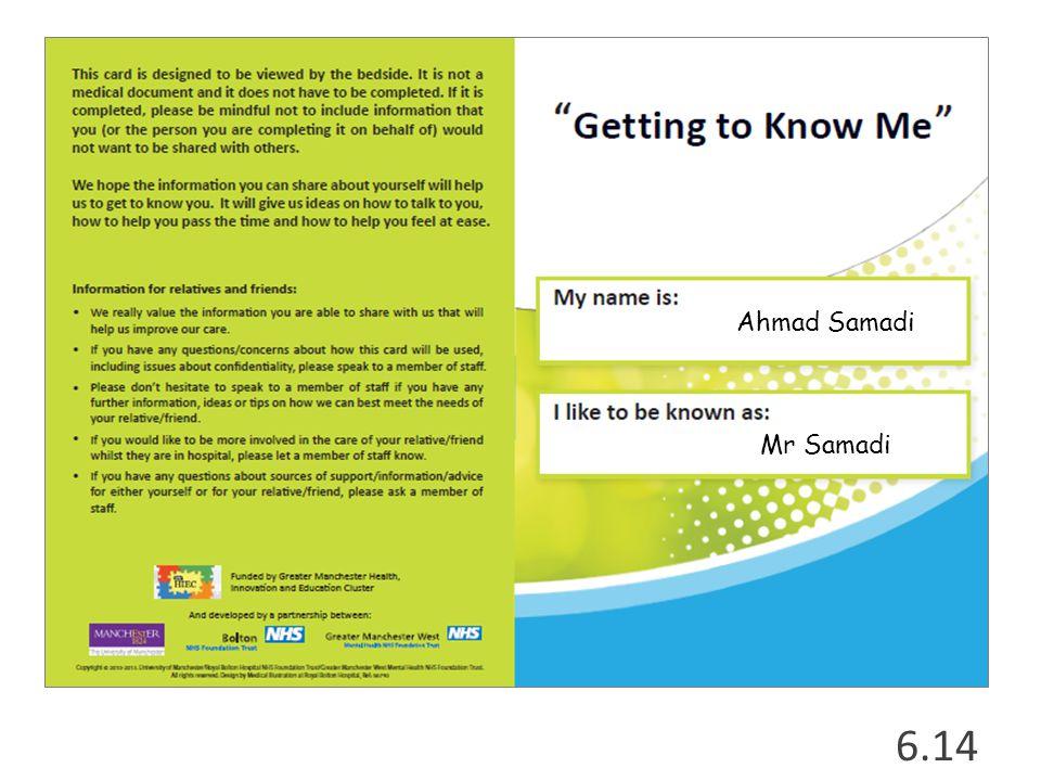 6.14 Ahmad Samadi Mr Samadi