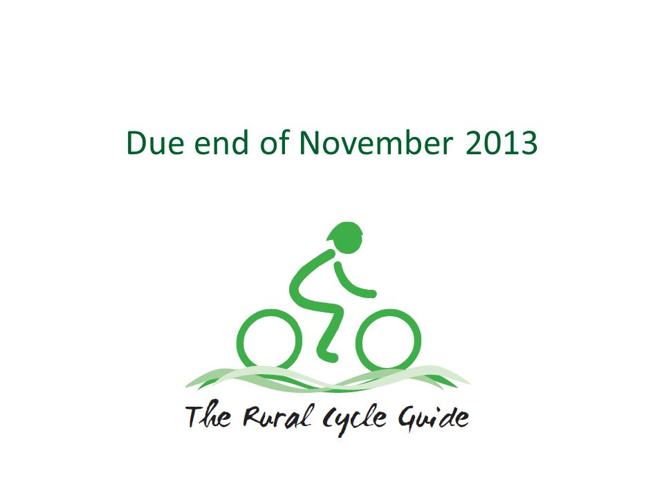 Due end of November 2013