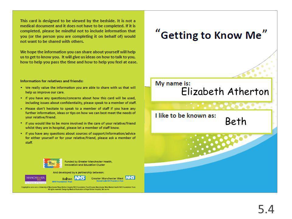 5.4 Elizabeth Atherton Beth