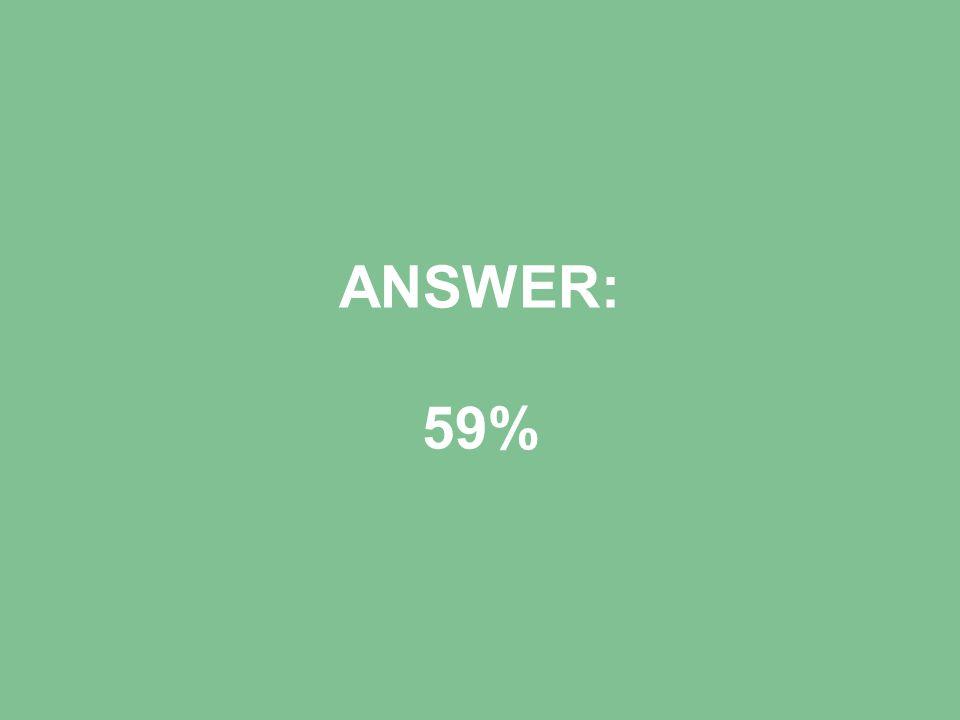 ANSWER: 59%