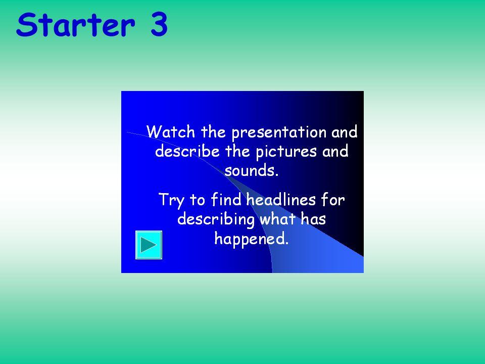 Starter 3