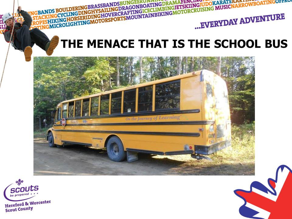 THE MENACE THAT IS THE SCHOOL BUS