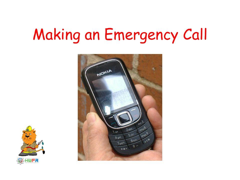 Making an Emergency Call