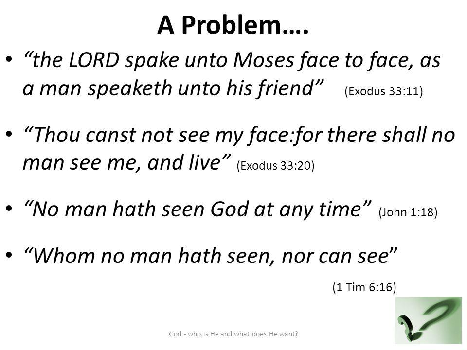A Problem….