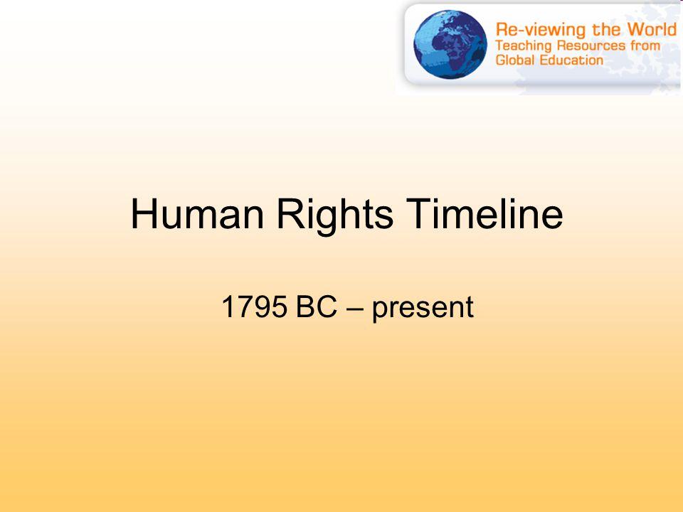 UN Decade on Human Rights Education 1995 – 2004 Kofi Annan was Secretary General of the UN during the Decade.