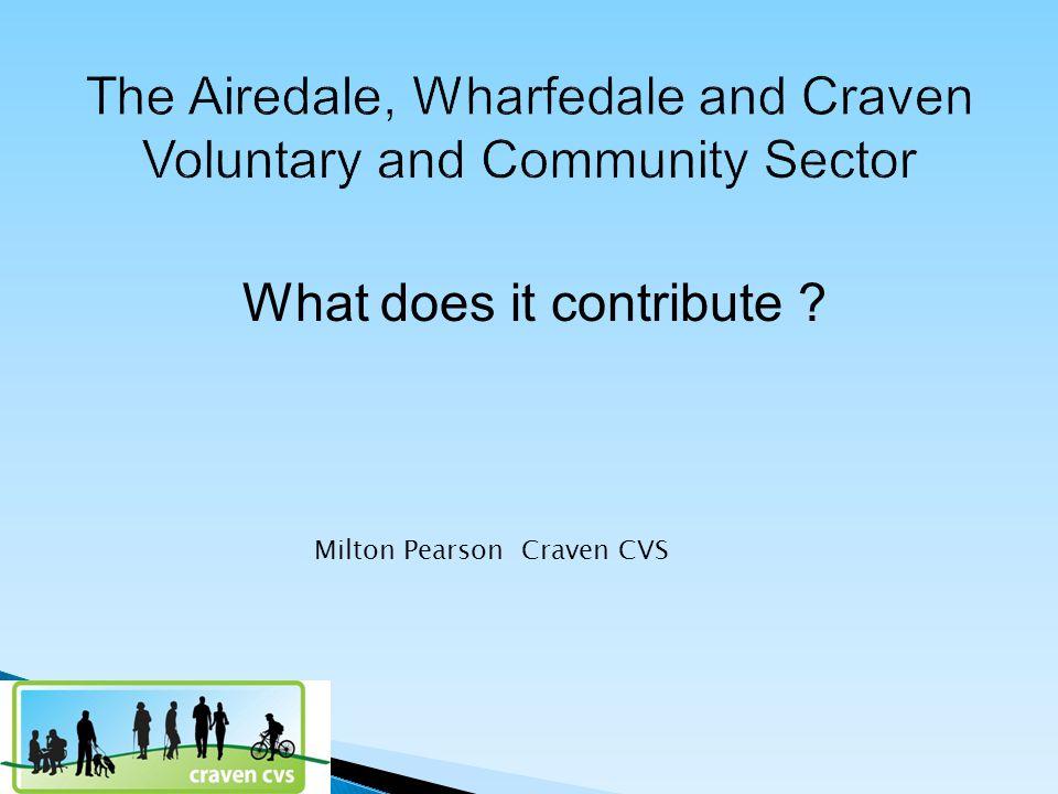 What does it contribute Milton Pearson Craven CVS
