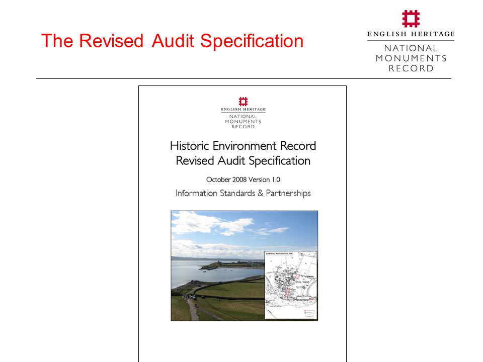 The Revised Audit Specification