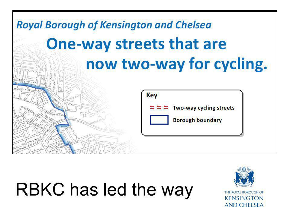 RBKC has led the way