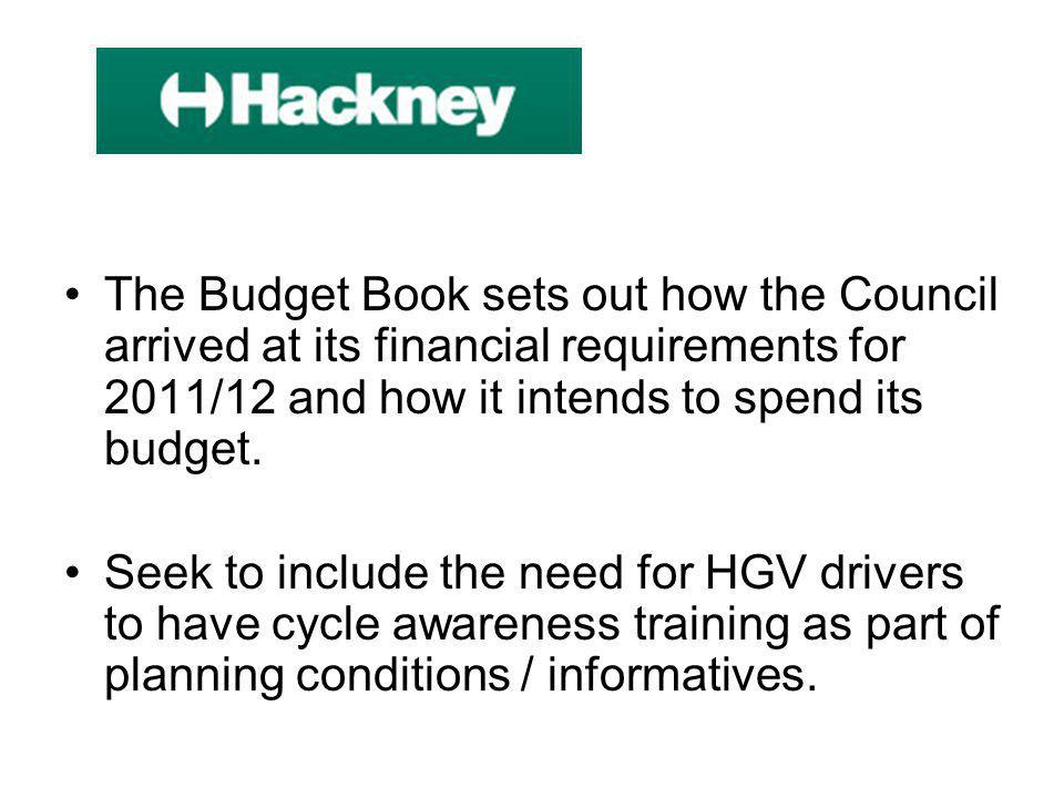 The Budget Book sets out how the Council arrived at its financial requirements for 2011/12 and how it intends to spend its budget.