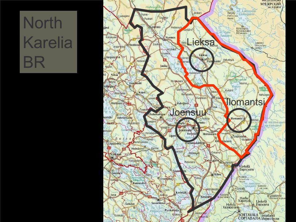 North Karelia BR Joensuu Lieksa Ilomantsi