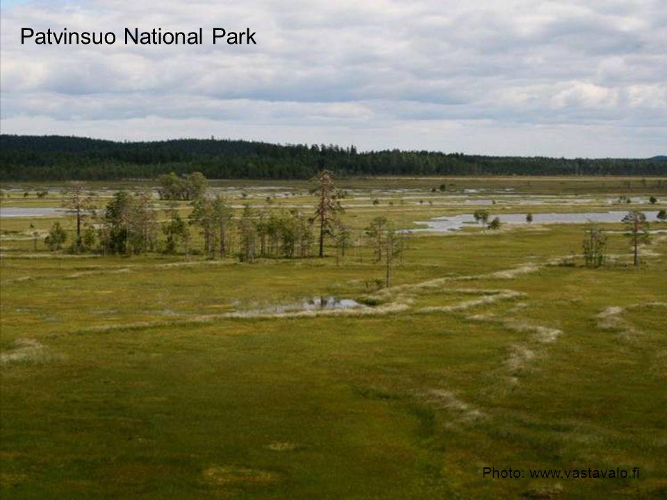 Patvinsuo National Park Photo: www.vastavalo.fi