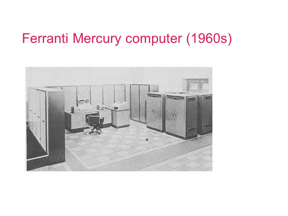Moore's Law Computing power doubles every 18 months