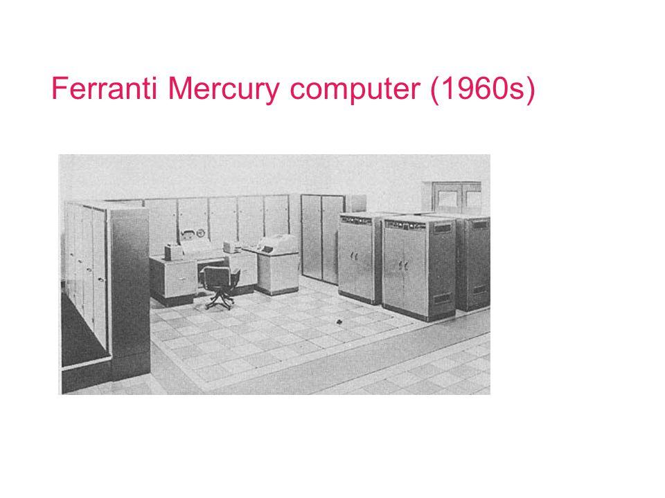 Ferranti Mercury computer (1960s)