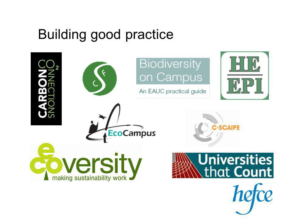 Building good practice
