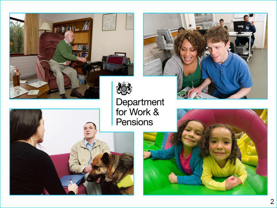 Department for Work and Pensions 3 2