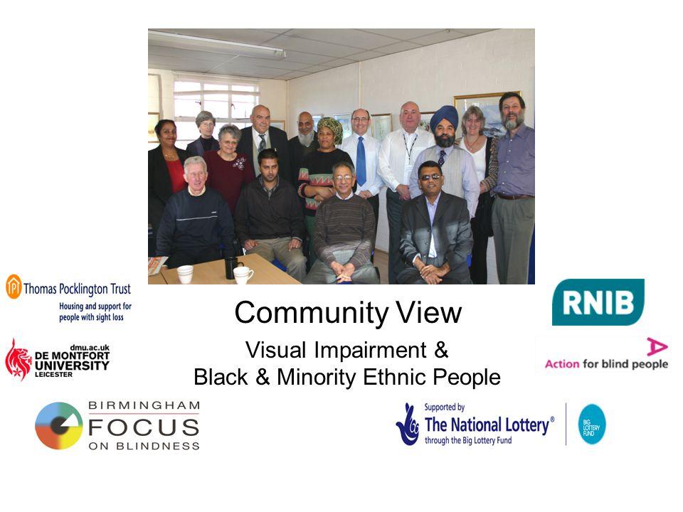 Community View Visual Impairment & Black & Minority Ethnic People