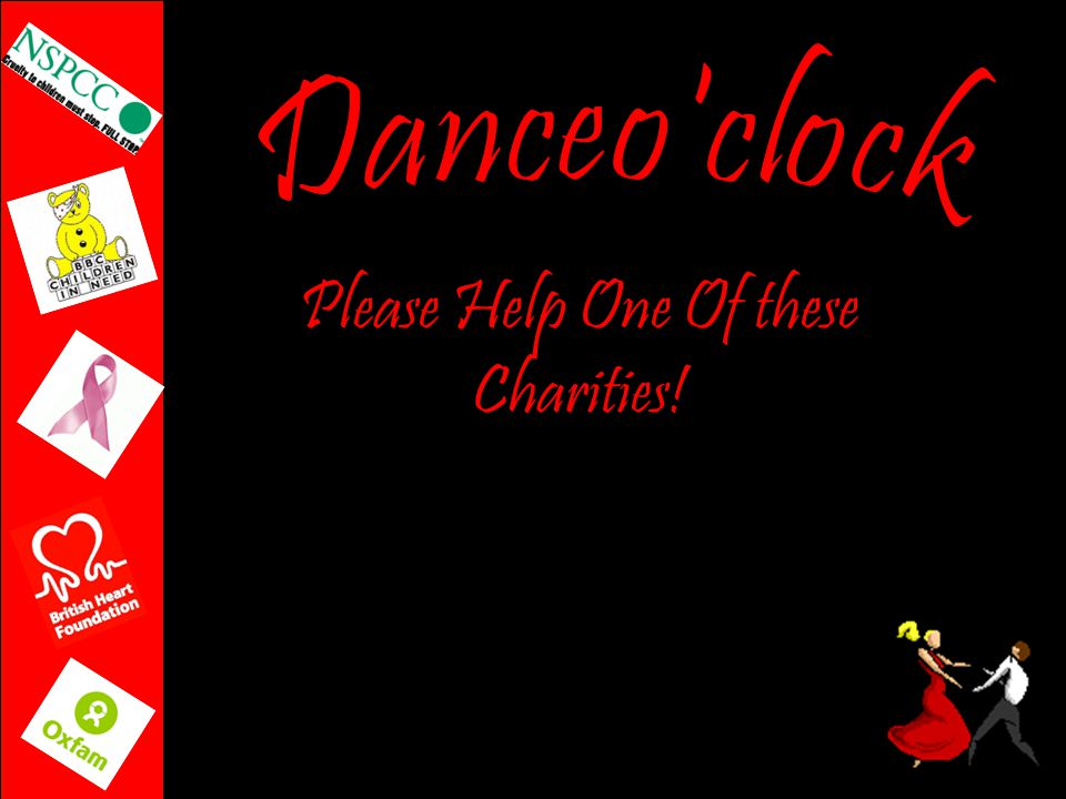 Please Help One Of these Charities!