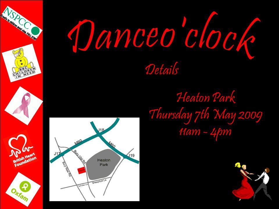 Heaton Park Thursday 7th May 2009 11am - 4pm Details