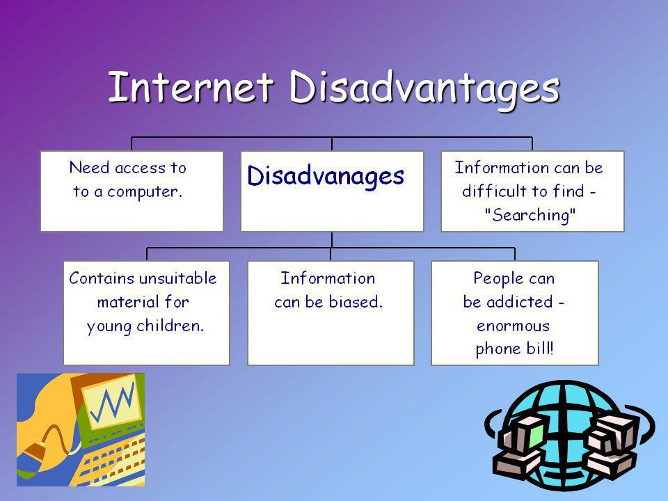 Internet Disadvantages