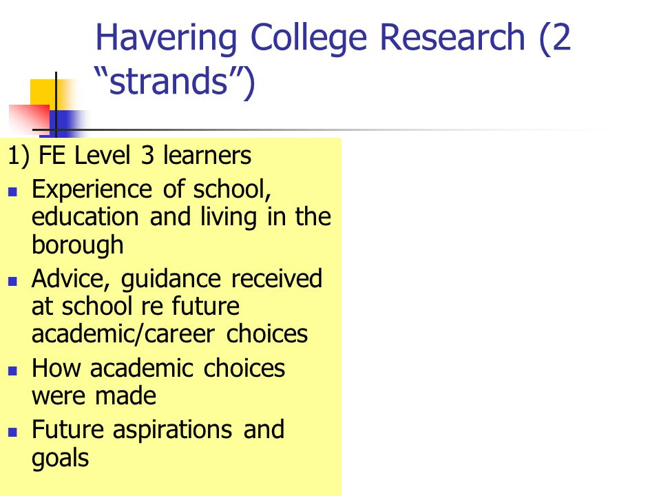 Possible Implications for the College Teaching and learning strategies Different ways of marketing in the borough Consider how the college might develop its presence in the borough further.