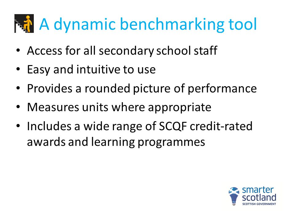 Inclusion of wider awards Wider awards must meet set criteria: -Be on the SCQF -Fit CfE principles - Meet Insight technical requirements