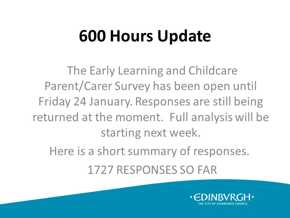 Comparison of time for tasks – Teacher versus Early Years Practitioner