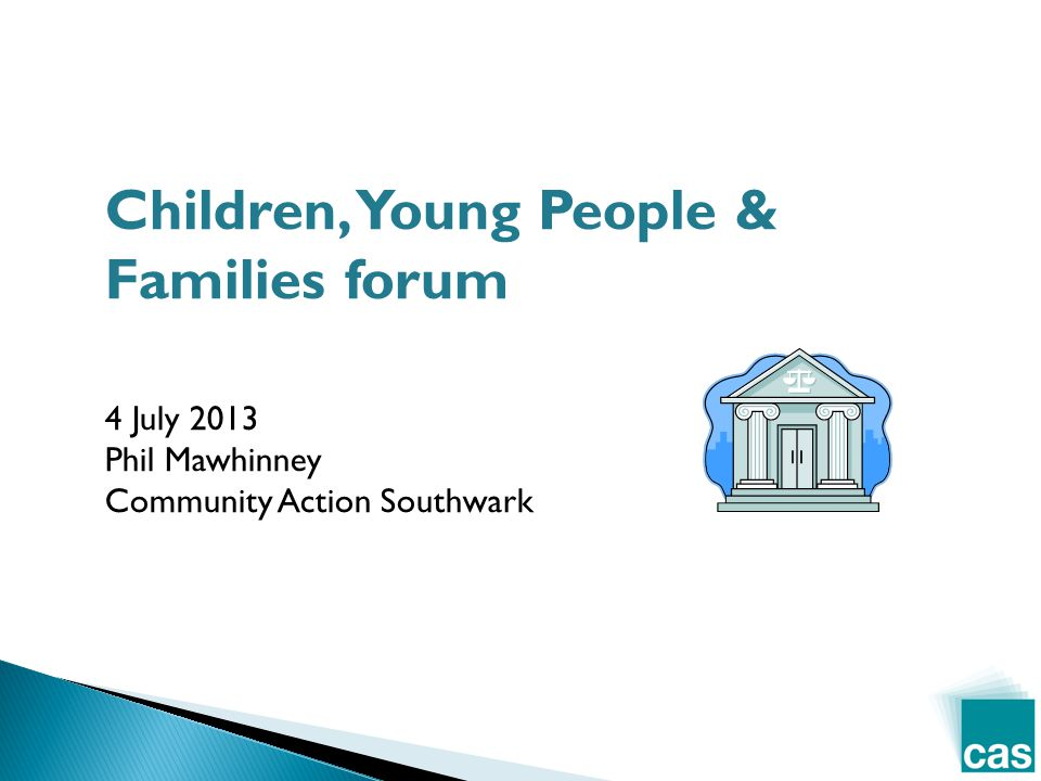 Phil Mawhinney Policy & Participation Officer Community Action Southwark phil@casouthwark.org.uk 0207 358 7018 Contact