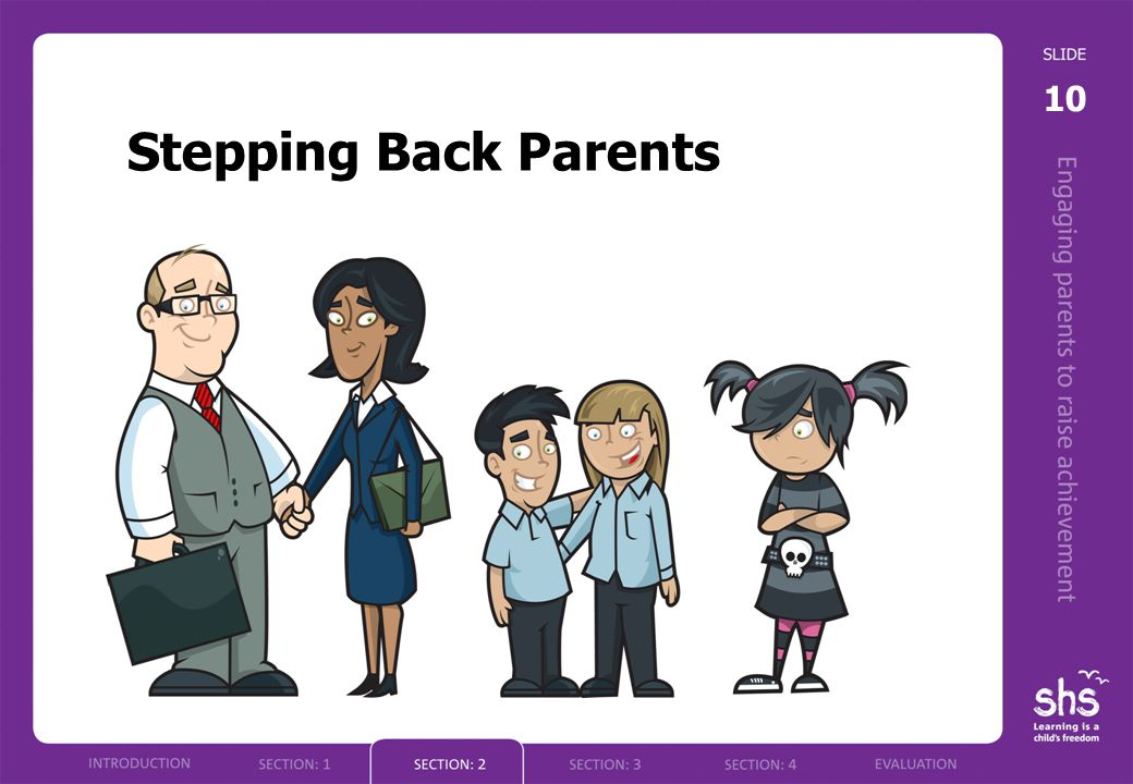 10 Stepping Back Parents