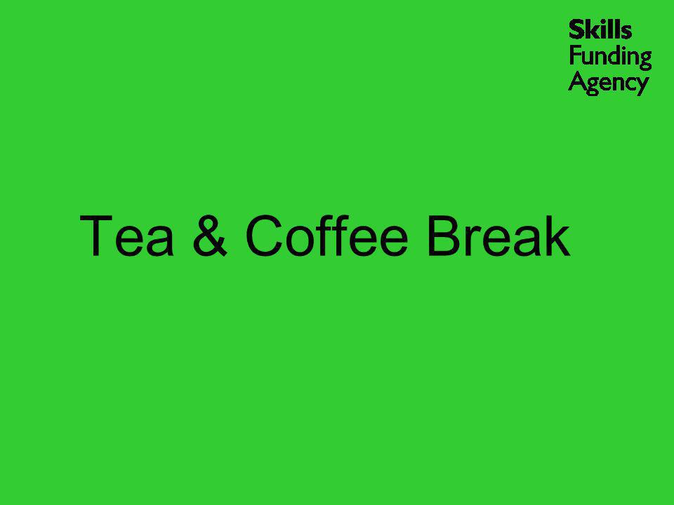Tea & Coffee Break