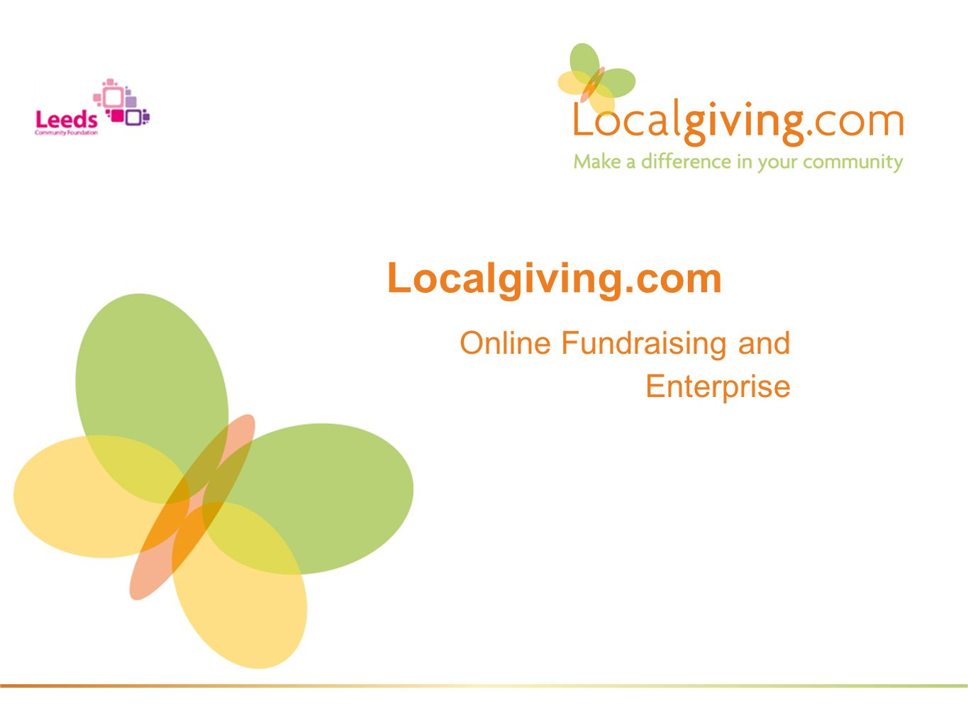 Online Fundraising and Enterprise Localgiving.com
