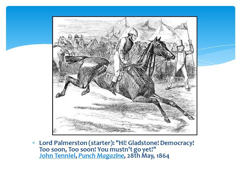  Lord Palmerston (starter):