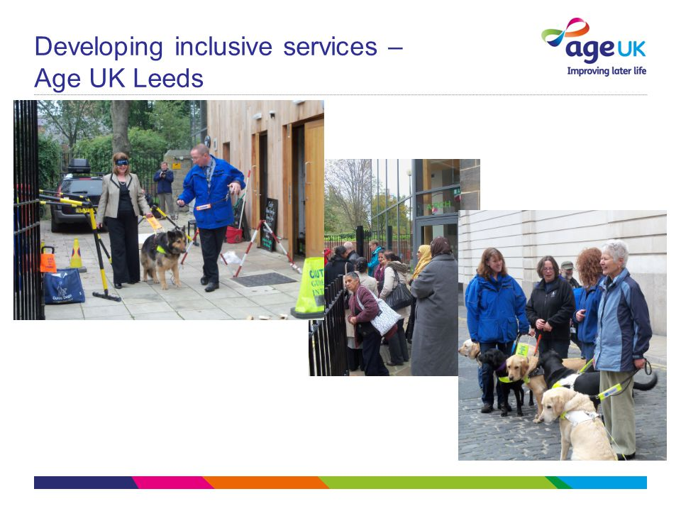 Developing inclusive services – Age UK Leeds