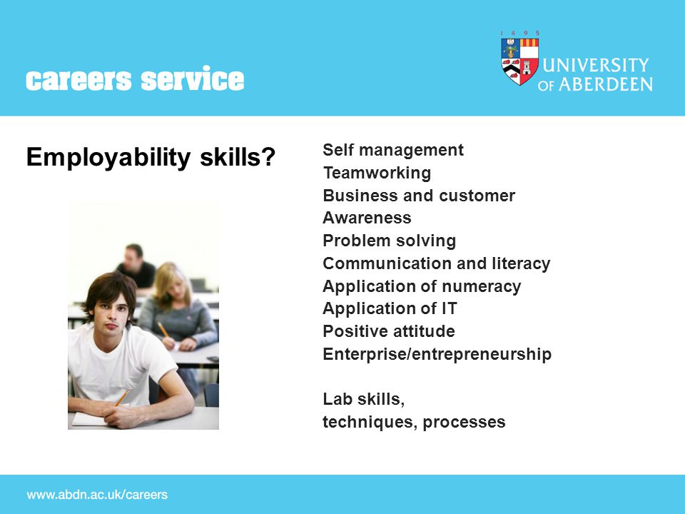 CV Exercise You have been approached by a final year business student at the University of Aberdeen.